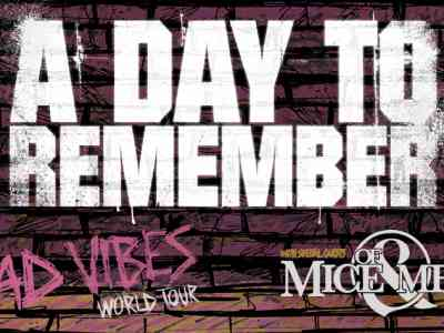 A Day To Remember Bad Vibes Tour