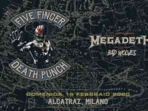 biglietti Five Finger Death Punch