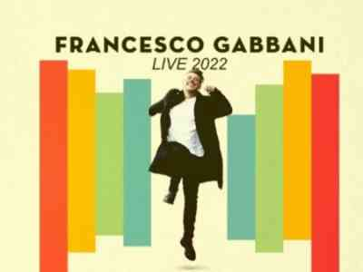 Francesco Gabbani Francesco Gabbani Tour