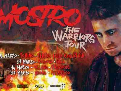 Mostro The Warriors Tour