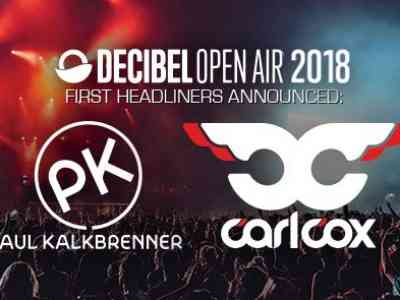 Paul Kalkbrenner and Carl Cox Decibel Open Air 2018