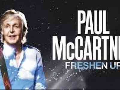 Paul McCartney Freshen Up