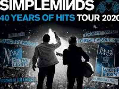Simple Minds 40 Years of Hits Tour 2020
