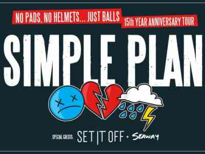 Simple Plan No Pads, No Helmets Just Balls 15th Anniversary Tour
