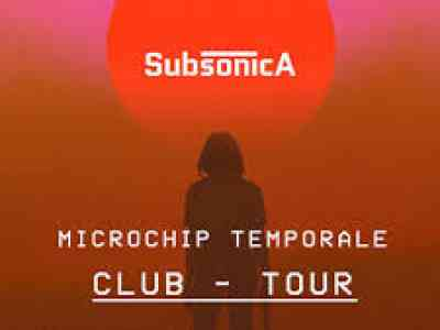 Subsonica 8 Tour Estate 2019