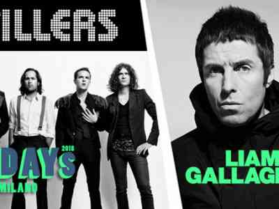 The Killers + Liam Gallagher