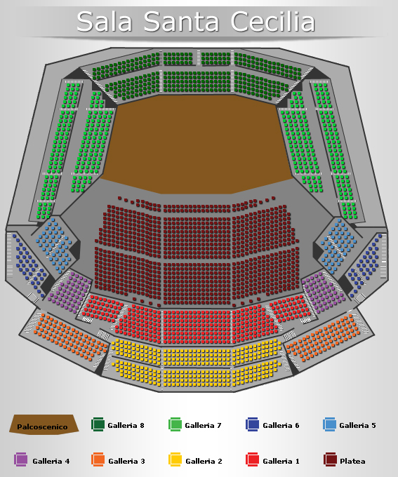 Biglietti concerto ben harper roma for Auditorium parco della musica sala santa cecilia posti migliori